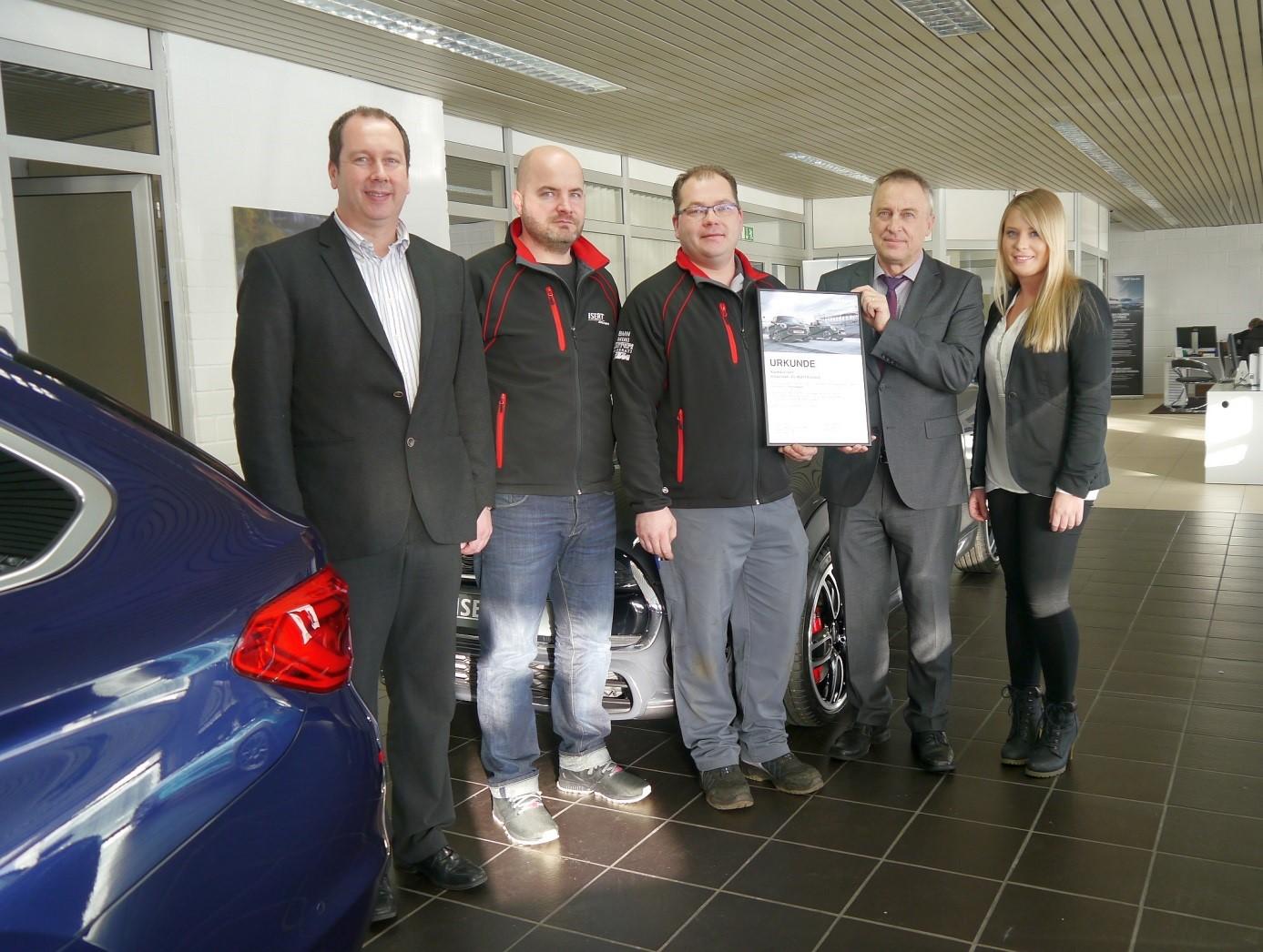 Autohaus isert start for Bewertung autohaus